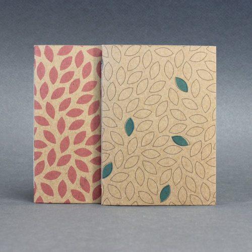 ECO ponthálós duo füzet - apró pöttyös / feliratos