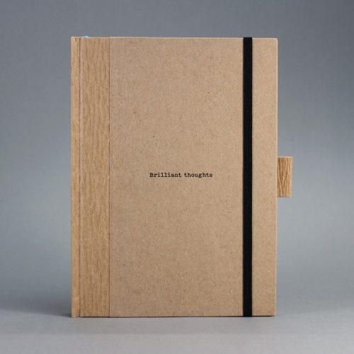 ECO natúr - feliratos 'Brilliant thoughts' ponthálós notesz