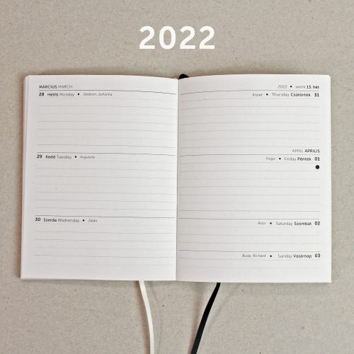 A/6 heti tervező belív 2022 (200)
