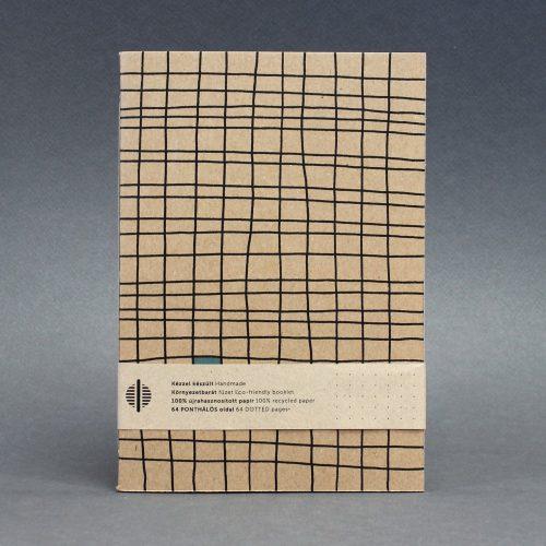 ECO ponthálós  füzet - virágmintás