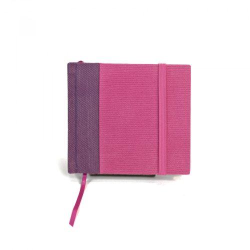 Lila-pink zsebnotesz