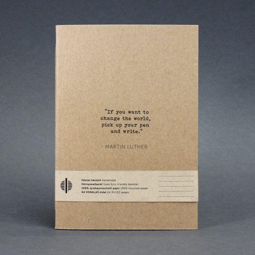 ECO ponthálós  füzet - pink -lila pöttyös